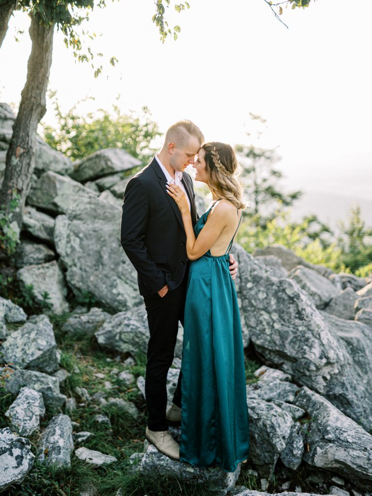 Fine Art Engagement Session Hawk Mountain