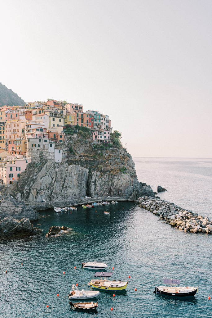 Cinque Terre taken at sunrise in July by photographer Matt Genders
